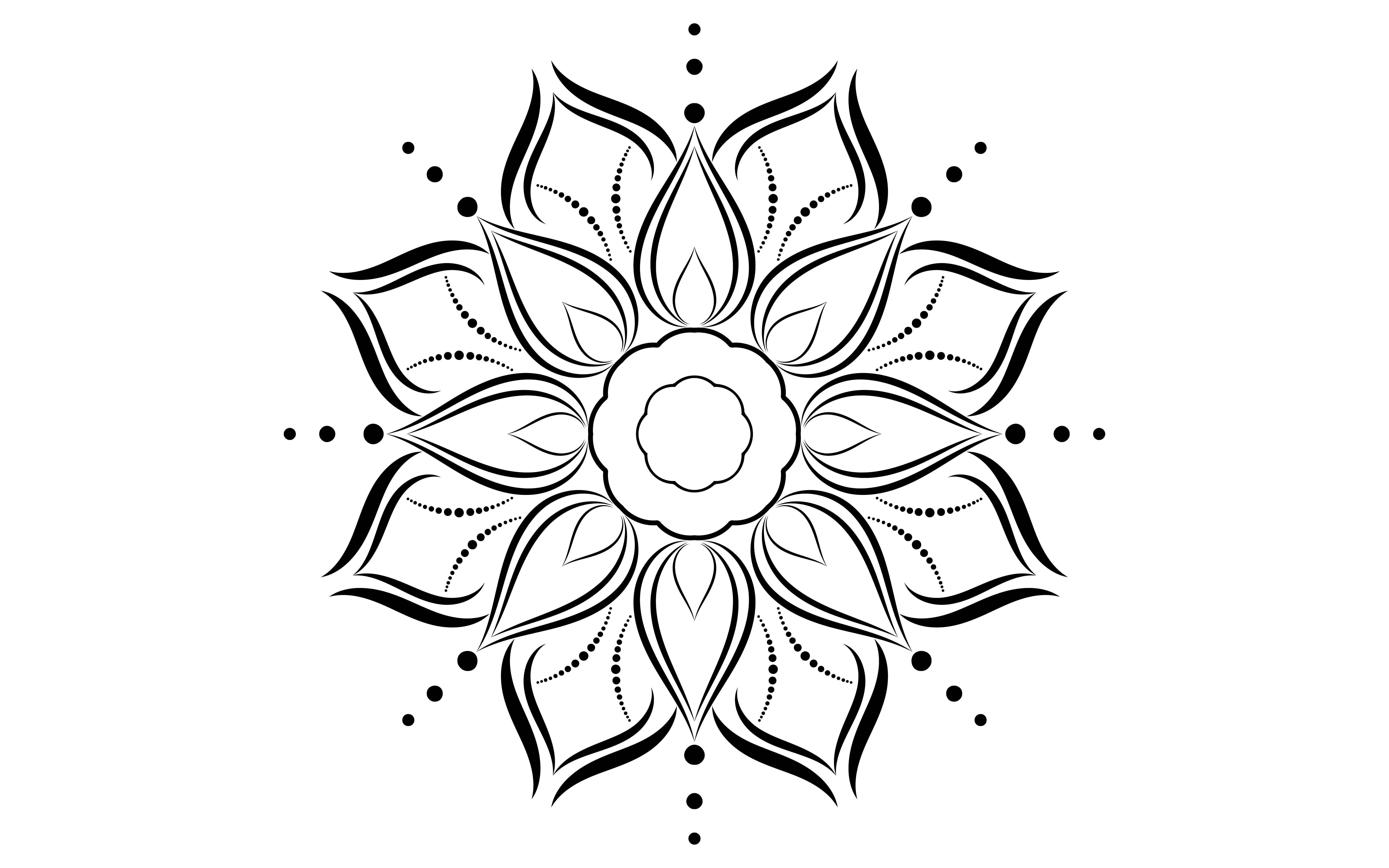 35 Hubsche Mandala Vorlagen Zum Ausdrucken 3