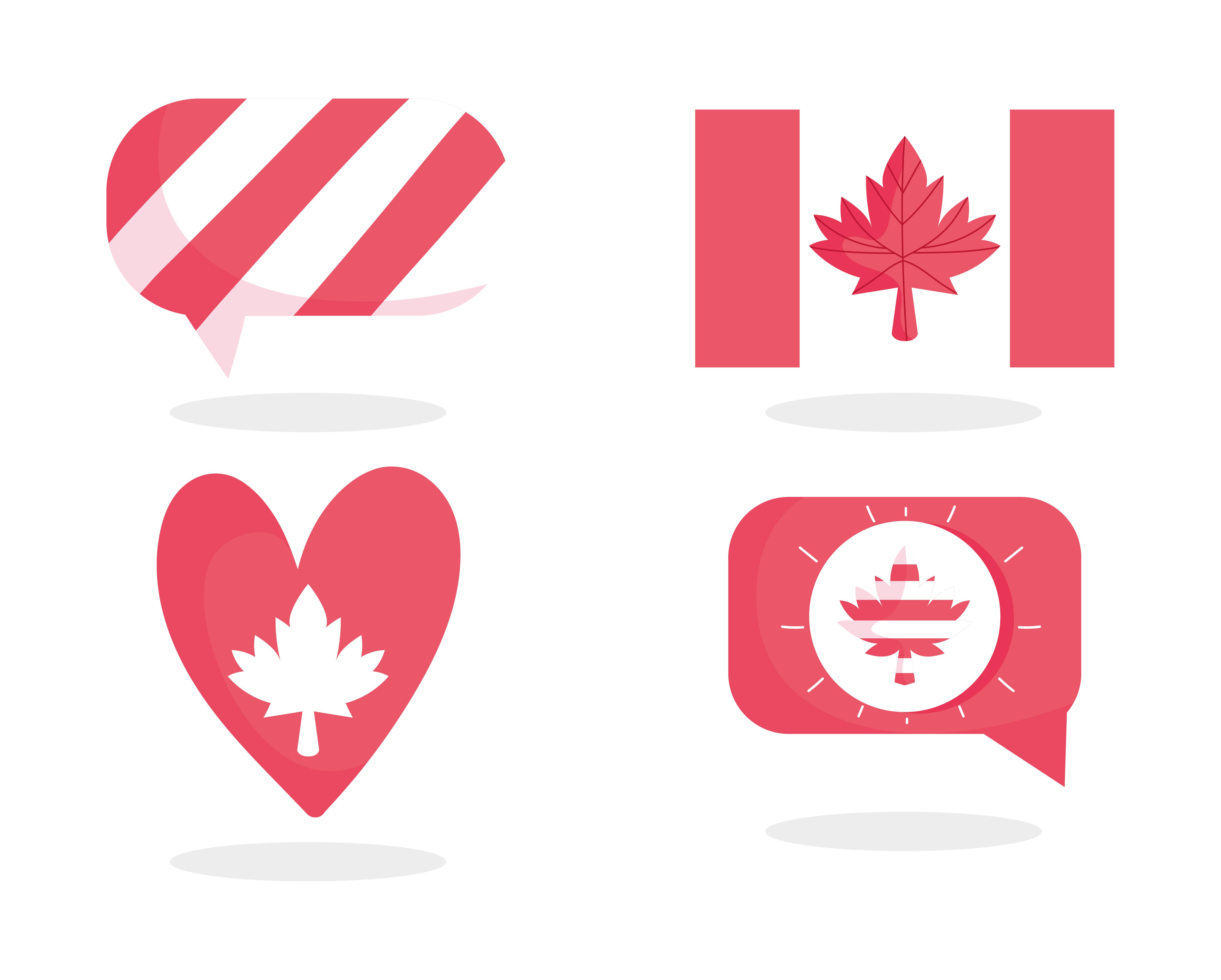 Kanada T-Shirt Canada MAJOR LEAGUE Ahornblatt Logo Flagge Reisen Motiv Urlaub