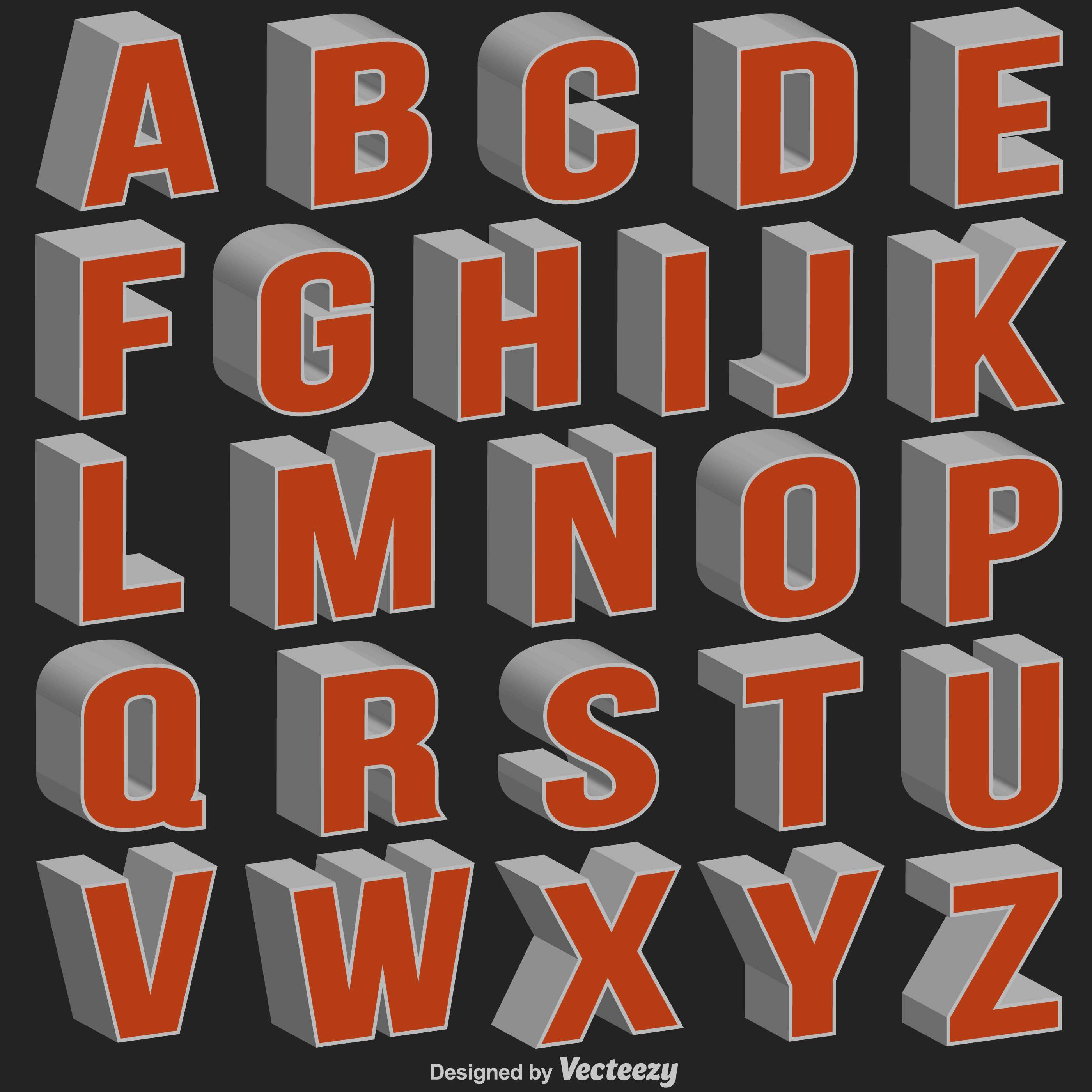 How To Draw 3d Bubble Letters Buchstaben 12