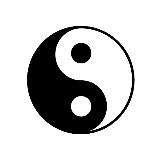 Yin Yang Vektor 42491 Vektor Kunst bei Vecteezy
