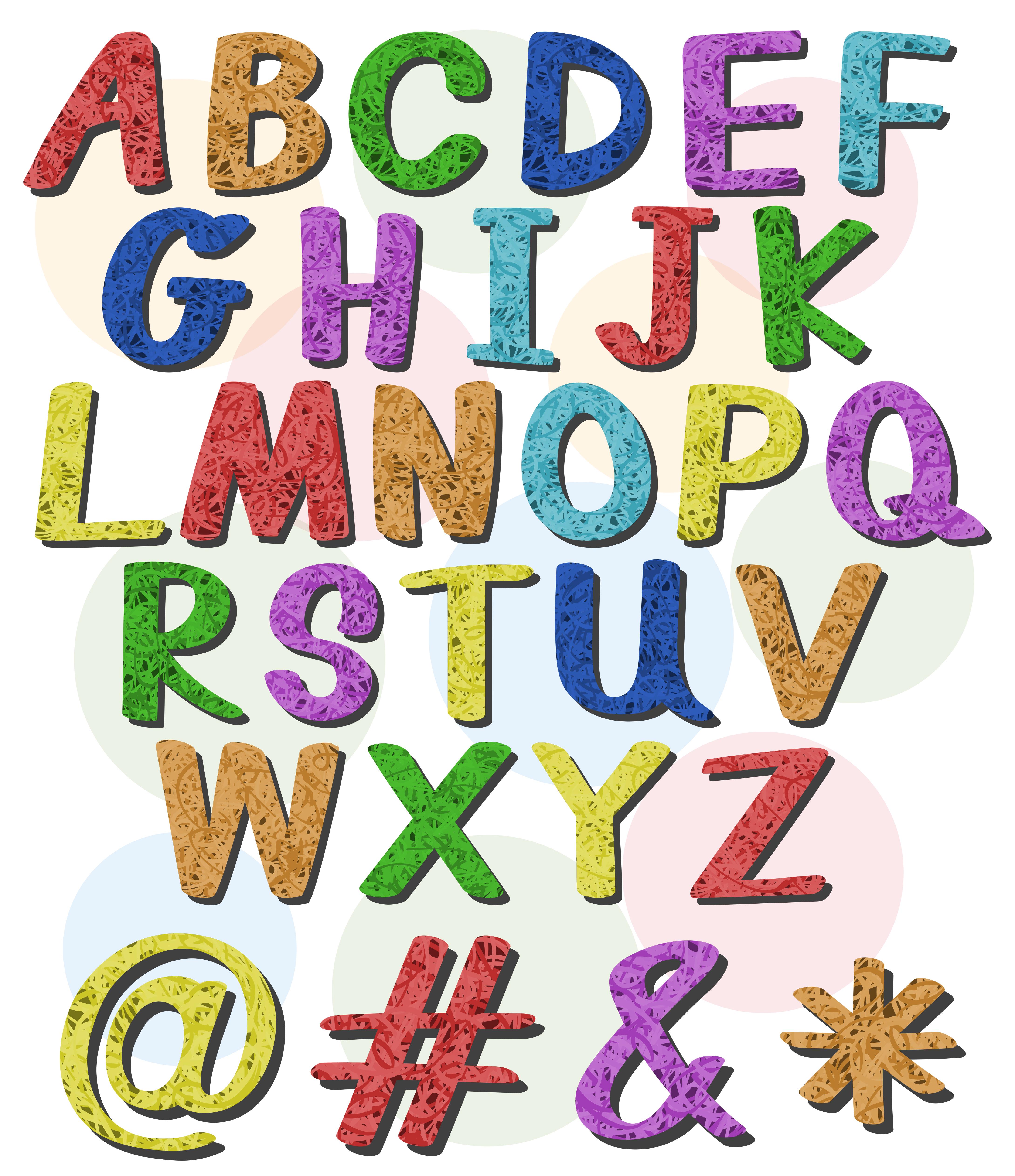Buchstaben Zum Ausdrucken Buchstaben Vorlagen
