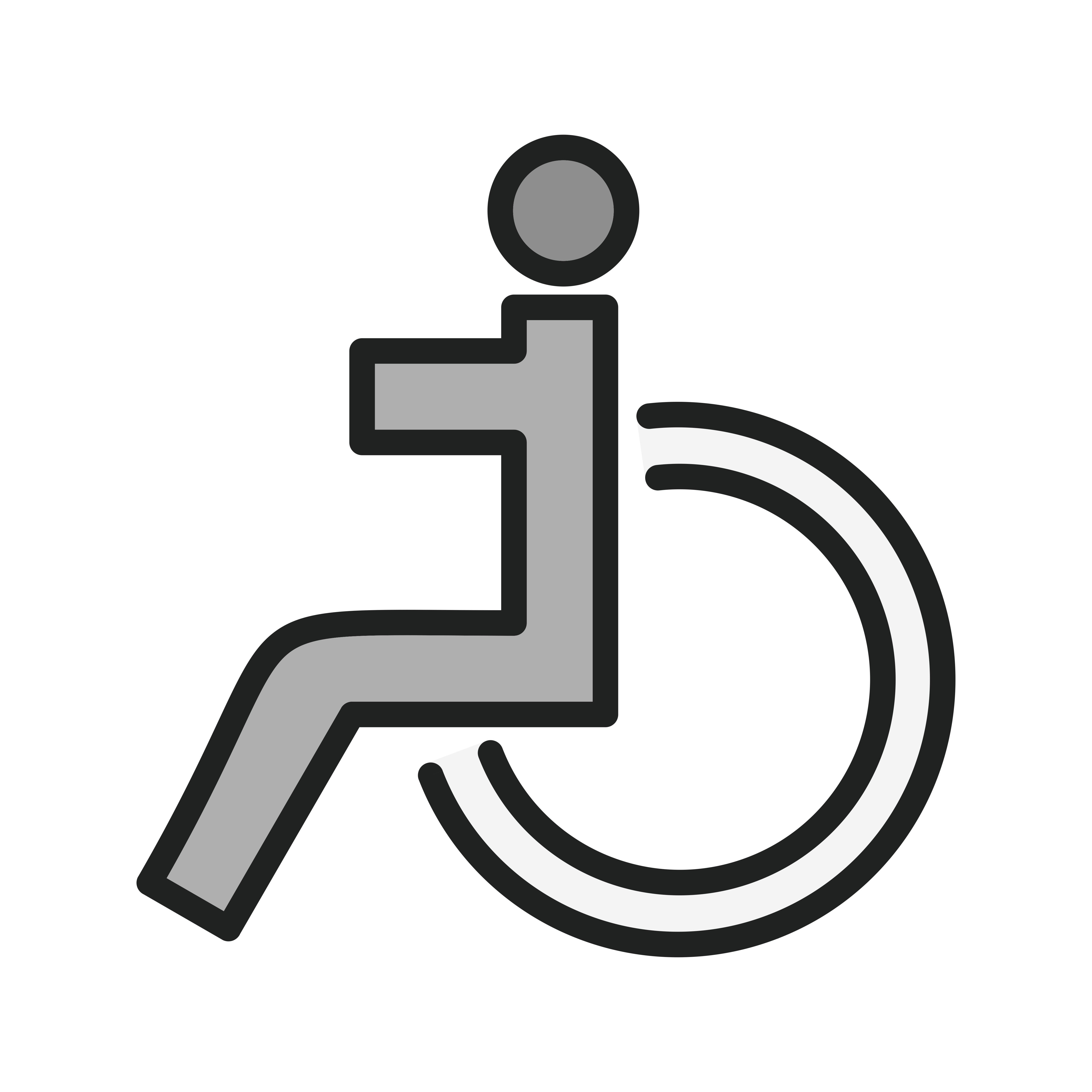 Behinderte Icon Design - Download Kostenlos Vector ...