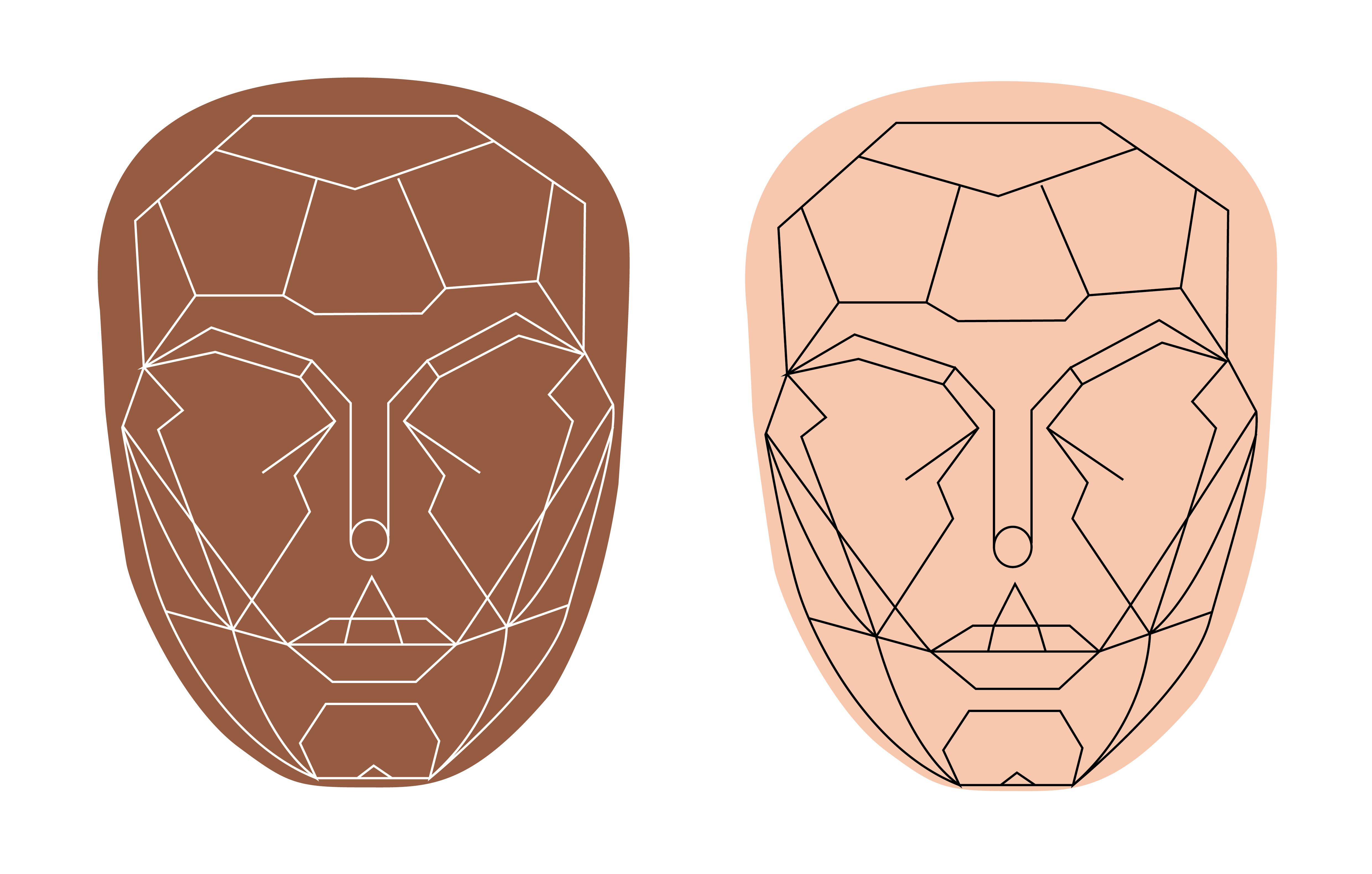 Gesicht Zum Schminken Face Chart Gesicht Schminken Gesicht 8