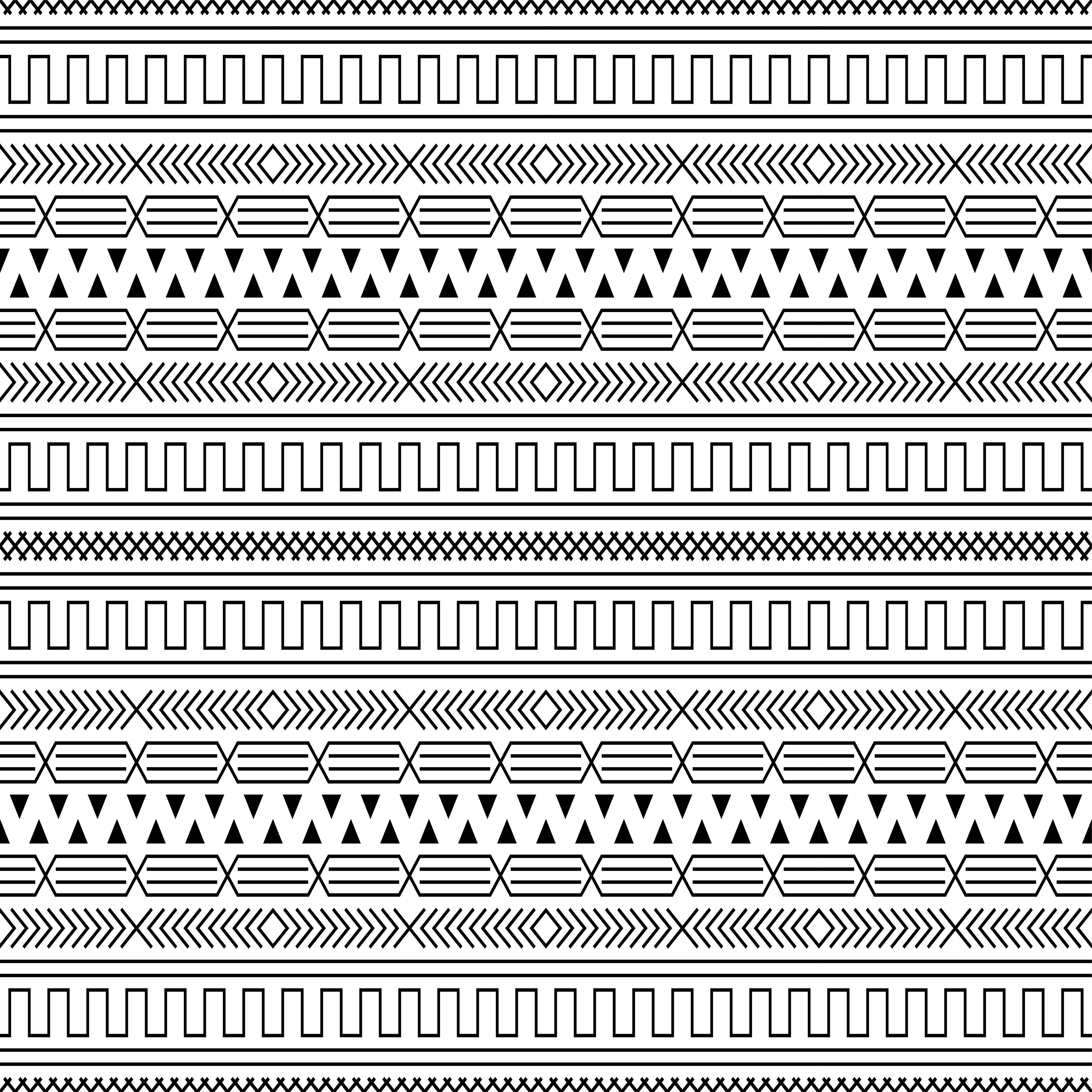 Geometrische Grundform Nahtlose Muster 689543 13