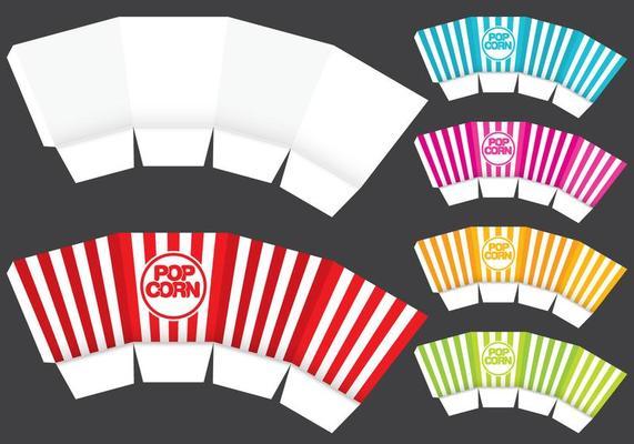 Diy Popcorn Box Basteln Und Salz Karamell