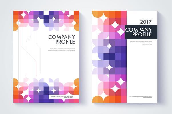 Firmenprofil Vorlage Corporation Main Informationen