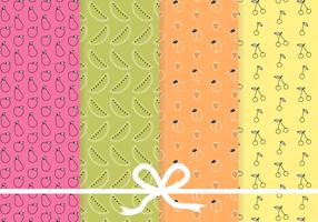 Free Fruit Pattern Vektor