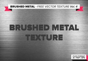 Borstad metall fri vektor textur vol. 4