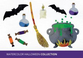 Halloween vektor uppsättning
