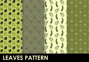 Freie Blätter Muster Vektor
