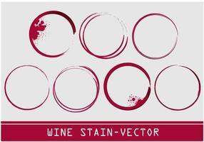 Wein Fleck Vektor