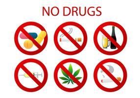 Inga läkemedelsvektorer vektor