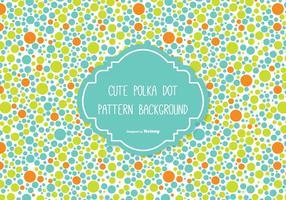 Netter Polka-Punkt-Hintergrund