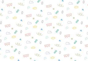 Zusammenfassung Strudel Form Muster Vektor