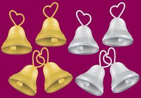 Hochzeit Bell Vektoren