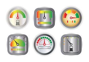 Kraftstoffanzeige Vektor