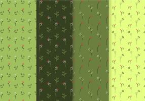 Freier Blumenmustervektor vektor