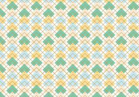 Argyle Muster Hintergrund vektor
