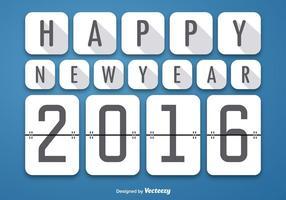 Glad 2016 bakgrund vektor