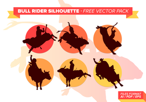 Stier Reiter kostenlos Vektor Pack