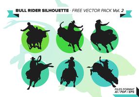 Bull Rider Gratis Vector Pack Vol. 3