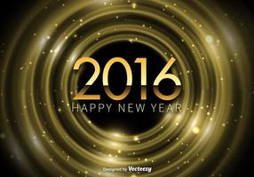 Glückliches neues Jahr 2016 Hintergrund