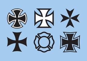 Malteser Kreuz Vektor