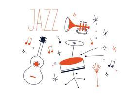 Freier Jazz-Vektor vektor