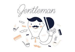 Freier Gentleman Vektor