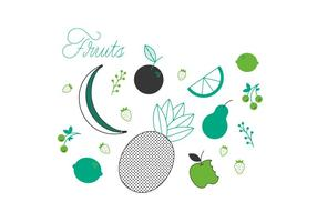 Gratis Frukt Vector