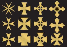 Guldmaltes kors