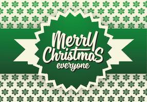 Kostenlose Weihnachten Hintergrund Illustration