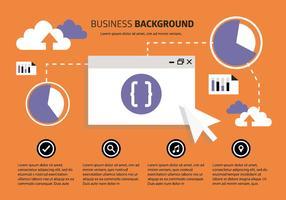 Free Business Backgorund med typografi