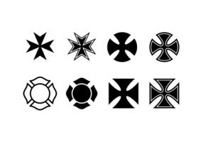 Kostenlos maltesischen Kreuz Vektor