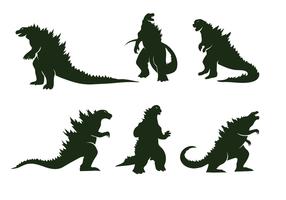 Kostenlose Godzilla Vektor