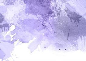 lila Aquarell spritzen Textur vektor
