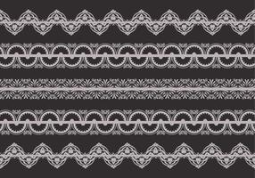 Retro Lace Trim Vektor