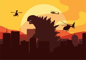 Godzilla Vektor