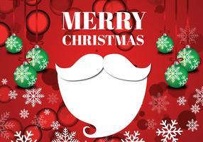Kreative Weihnachten Santa vektor