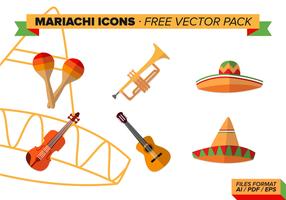 Mariachi Icons kostenlos Vektor Pack