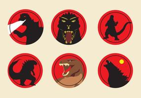 Godzilla ikoner