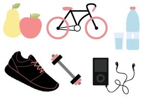 Kostenlos Fitness Vektor