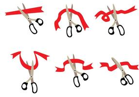 Ribbons skärande vektor