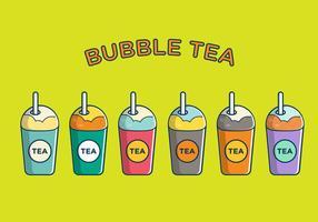 Fri bubbla te vektor