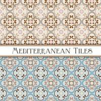 geometrische mediterrane Muster vektor