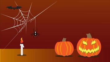 orange Halloween Hintergrund
