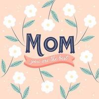 Muttertag Blumen Hintergrund