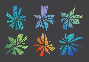 Gratis krossat och brutet glas # 4 vektor