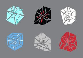 Free Shattered und Broken Glass # 2