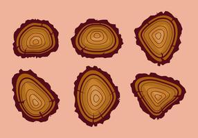 Freie Baumringe Vektorabbildung # 13